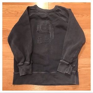 {Gap} Distressed Sweatshirt, S (6-7)